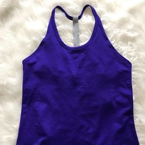 Athleta purple tank top size small